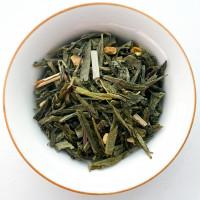 """Зеленый чай """"Апельсин с имбирем"""""""