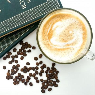 """Кофе в зернах """"Клубника со сливками"""""""