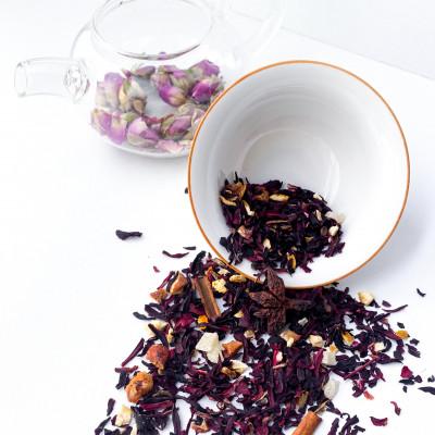 """Фруктовый чай """"Карибский пунш"""""""