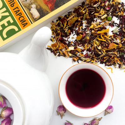 """Фруктовый чай """"Красный апельсин"""""""