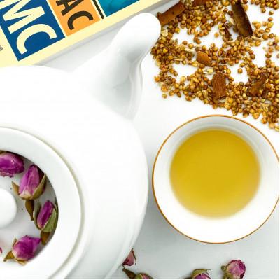 Гречишный чай с имбирем и корицей